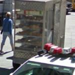 Pastry for sale (StreetView)