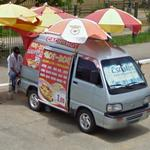 Hot dog van (StreetView)
