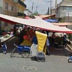 Temporary market (StreetView)