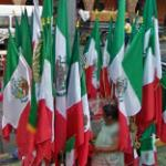 Mexican flags for sale (StreetView)