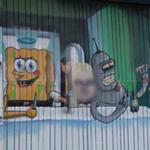 Sponge Bob & Bender (StreetView)