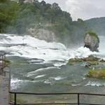 Rheinfall (edge of the waterfall)