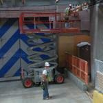 Scissor lift (StreetView)