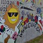'Cathedral Village Arts Festival' Mural (StreetView)