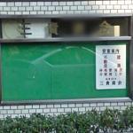 Google Car green reflection (StreetView)