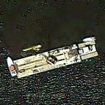 Fatal plane crash recovery (2011-07-25) (Google Maps)