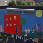 Mural painted by children (StreetView)