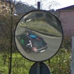 Google car reflection (StreetView)