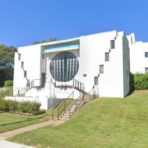 'Patti Adams Shriner House' by Bruce Goff (StreetView)