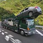 Car carrier (StreetView)