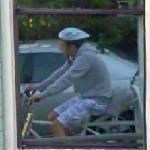 Google trike reflection (StreetView)
