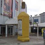 Giant Tequila Bottle