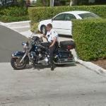 Palm Beach moto police (StreetView)