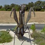 Giant Praying Mantis (StreetView)
