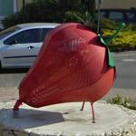 Giant Strawberry (StreetView)