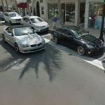 Lexus IS and BMW 6 series (StreetView)