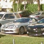 Mercedes SLR roadster (StreetView)