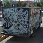 Graffiti Van (StreetView)