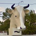 Giant Cow Head (StreetView)