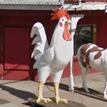 Giant Rooster (StreetView)