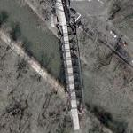 Former B&O Railroad Bridge over the C&O Canal (Google Maps)