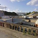 Okukubi Dam under construction (StreetView)