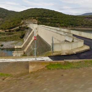 Les Olivettes Dam (StreetView)