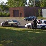 Stopped by a K-9 unit (StreetView)