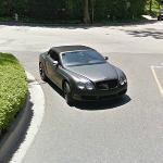 Bentley Continental GTC (matt) (StreetView)