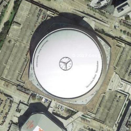 Louisiana Superdome (Google Maps)