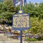 First World Series Marker (StreetView)