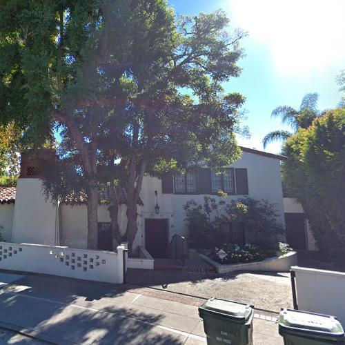 Bob Barkers House in Los Angeles CA Google Maps 2