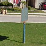 Canada's First Air Mail (StreetView)