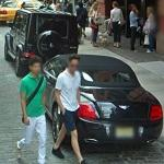 Bentley Continental GTC Speed + Mercedes G55 AMG (StreetView)