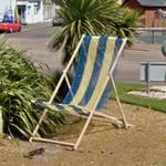 Huge deckchair