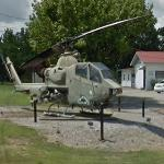 AH-1 Huey Cobra helicopter (StreetView)