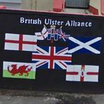 British Ulster Alliance Mural (StreetView)