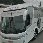 Santos FC bus