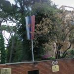 Serbian flag (StreetView)