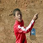 Playing with kite (StreetView)