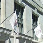 Illinois and Cook County flags (StreetView)