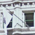 Illinois flag (StreetView)