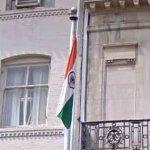 Indian flag (StreetView)