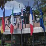 Flags in Mexico City (StreetView)