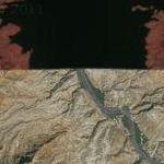 Expanding Resevoir - from Desert to Lake (Google Maps)