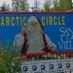 Santa Claus sign (StreetView)