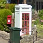 Last British K3 Mk2 phone box in Scotland (StreetView)