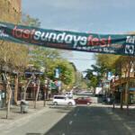 Last Sundays Fest banner (StreetView)