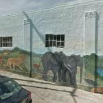 Safari mural (StreetView)