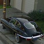 Jaguar E-type + BMW M6 (StreetView)